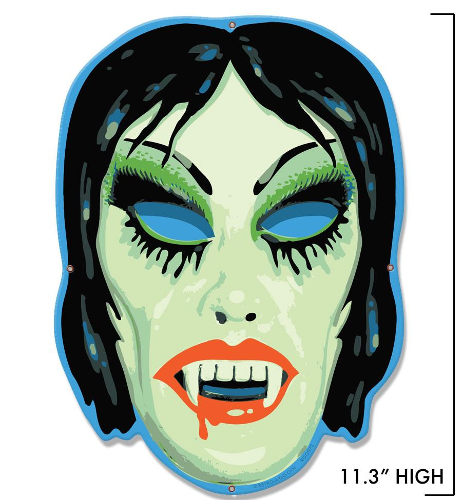 Vampyra Girl Metal Sign - Mini -