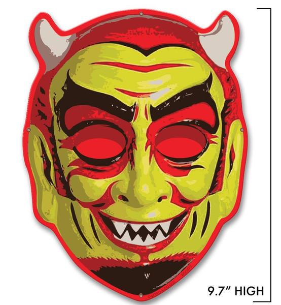 Fun House Devil Metal Sign - Mini* -