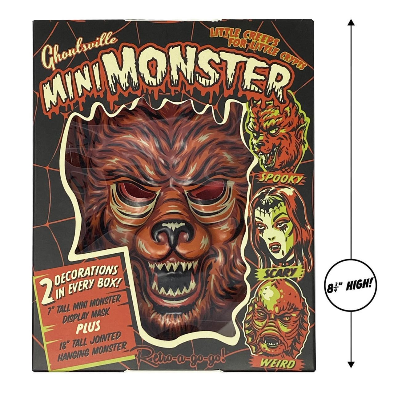 Man Wolf Mini Monster* -
