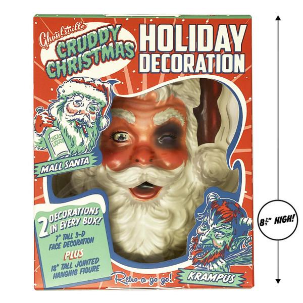 Mall Santa Cruddy Christmas Mini Monster* -