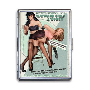 Bettie Page Wayward Girls Cigarette Case