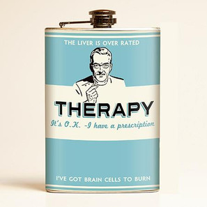 Therapy Flask-OUT OF STOCK - 0641938654547