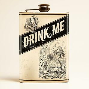 Drink Me Flask - OUT OF STOCK!