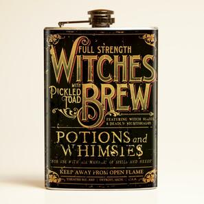 Theatre Bizarre Witches Brew Flask