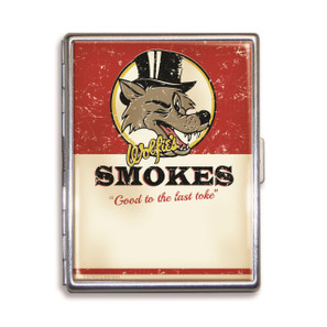Wolfie's Smokes Cigarette Case