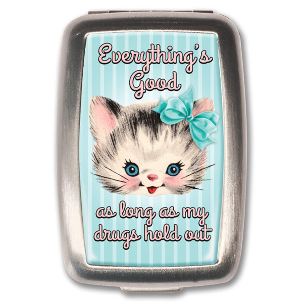 Everything's Good Pill Box -
