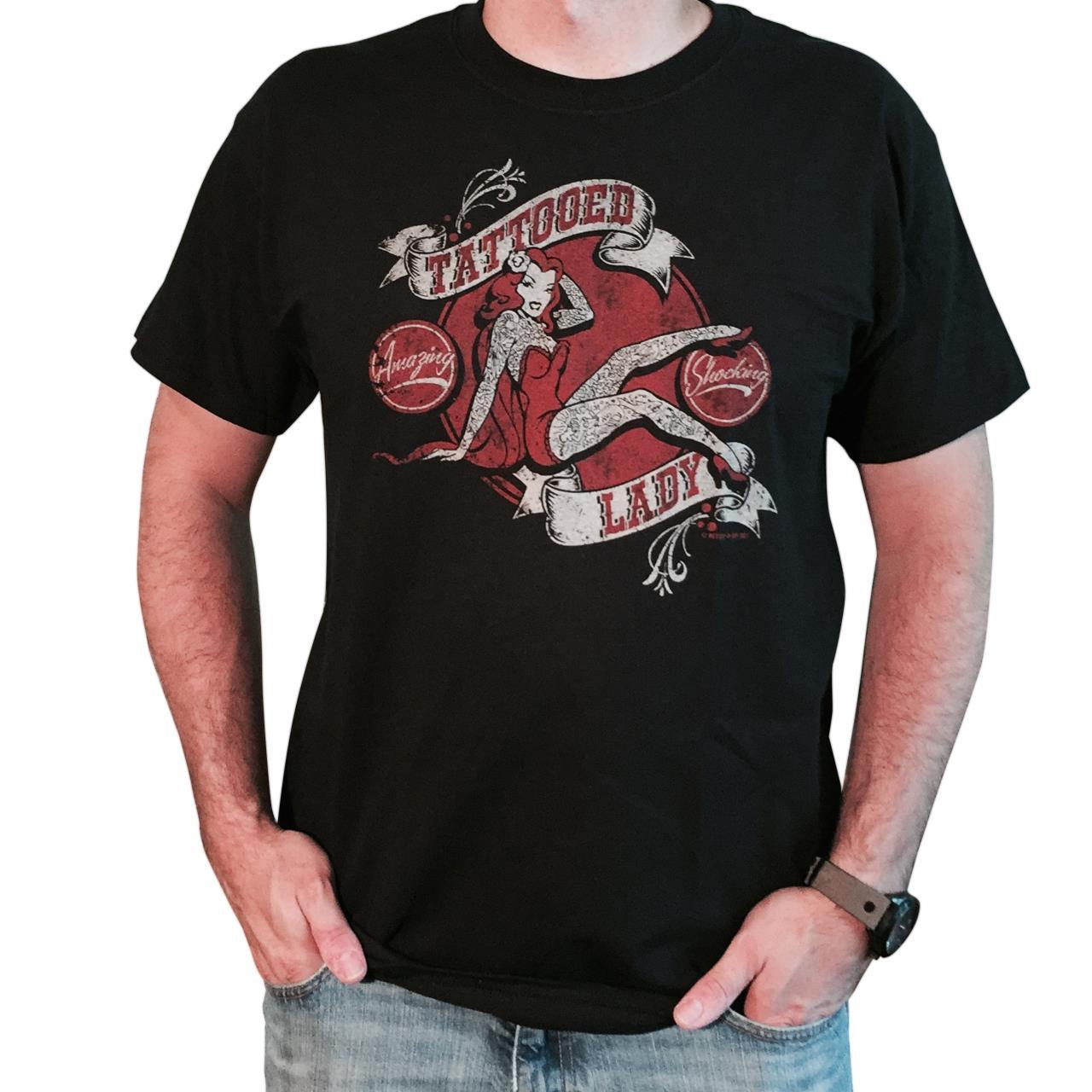 Tattooed Lady Men's T-Shirt -