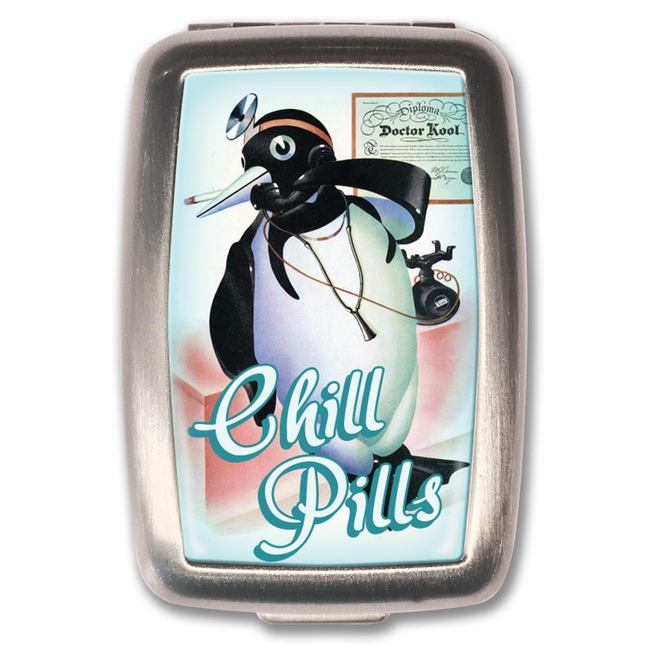 Chill Pills Pill Box - 0641938654868