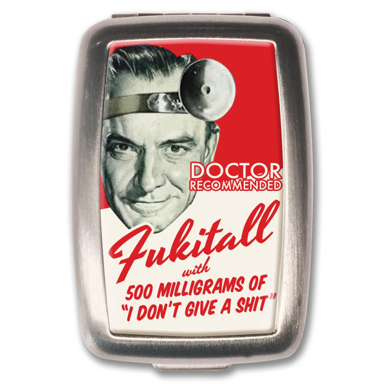 Fukitall Pill Box - 0641938654875