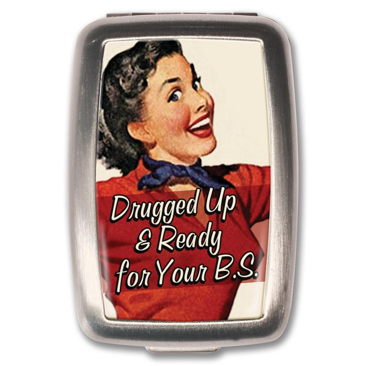 Drugged Up Pill Box - 0641938654981
