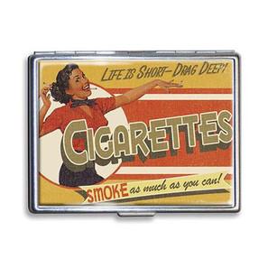 Drag Deep Cigarette Case