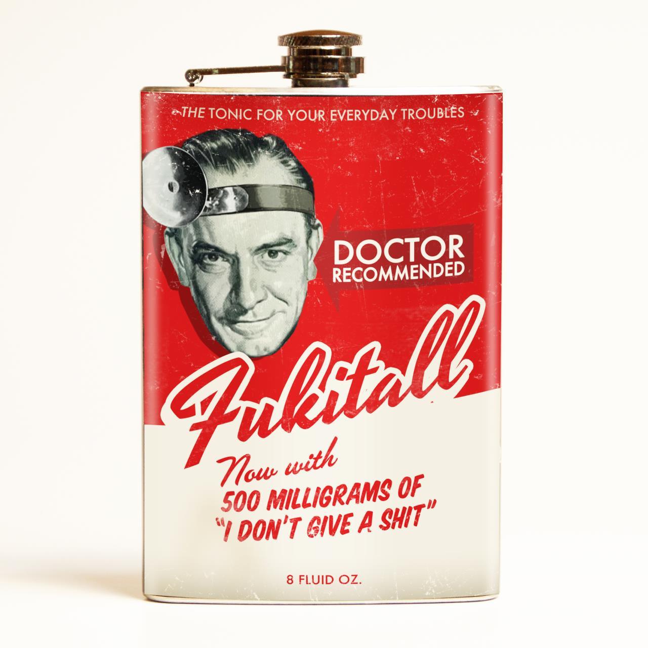 Fukitall Flask -