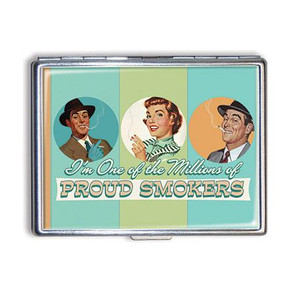 Proud Smoker Cigarette Case