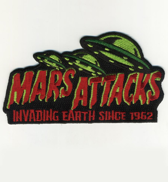 Mars Attacks Invading Earth Patch* - 0659682807195