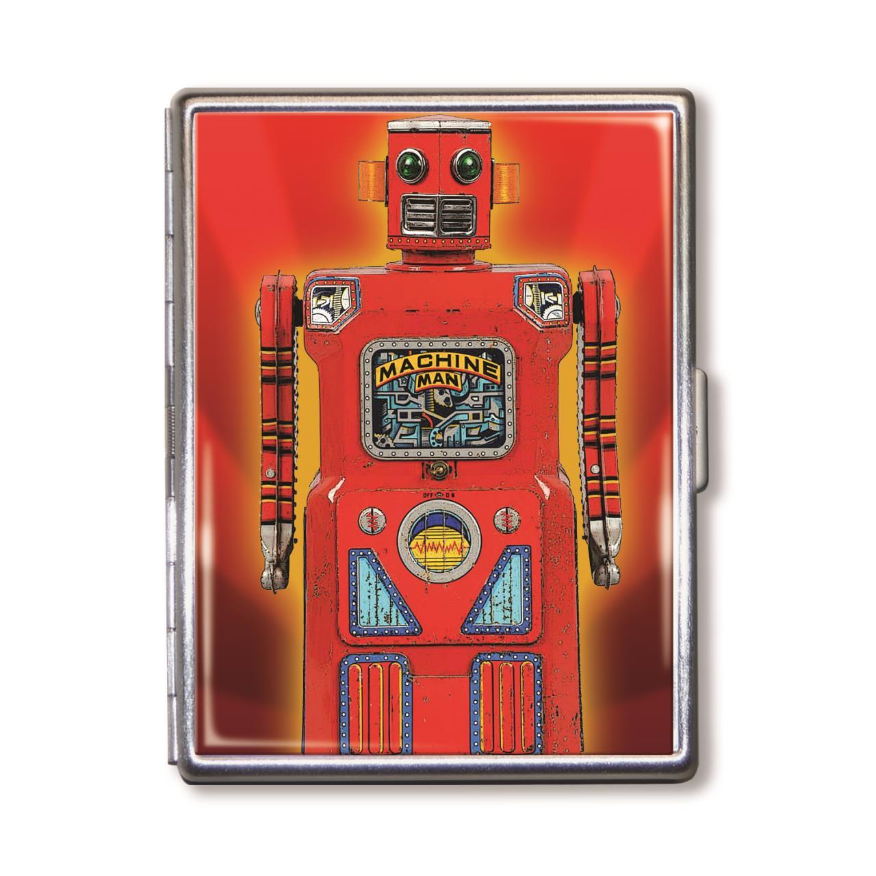 Red Robot Cigarette Case -