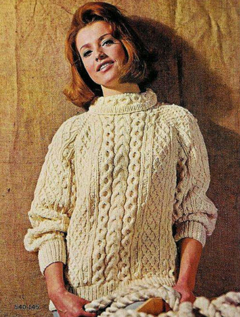 9c04bcc6a9210 ... hours upon hours of knitting inspiration from vintage Aran Sweaters and  Accessories to even Aran Coats and Dresses