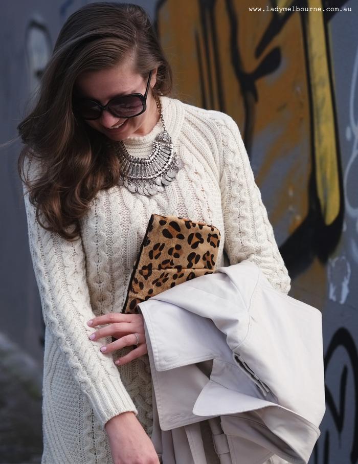 98fb8106e05 Product Spotlight - The Aran Sweater Dress gets a Western Twist for ...
