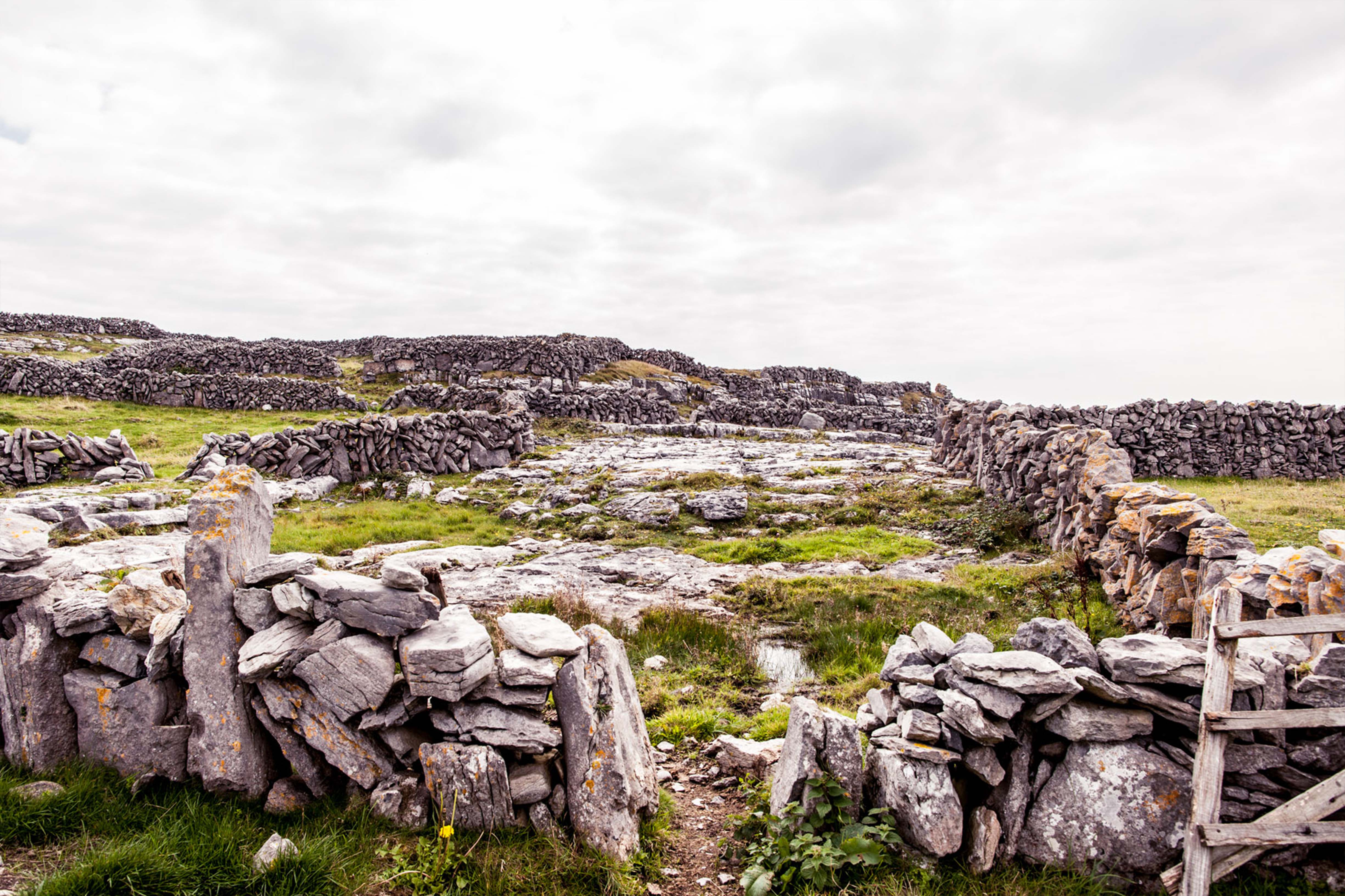 Meaning of Aran Patterns - Aran Islands Stone Walls