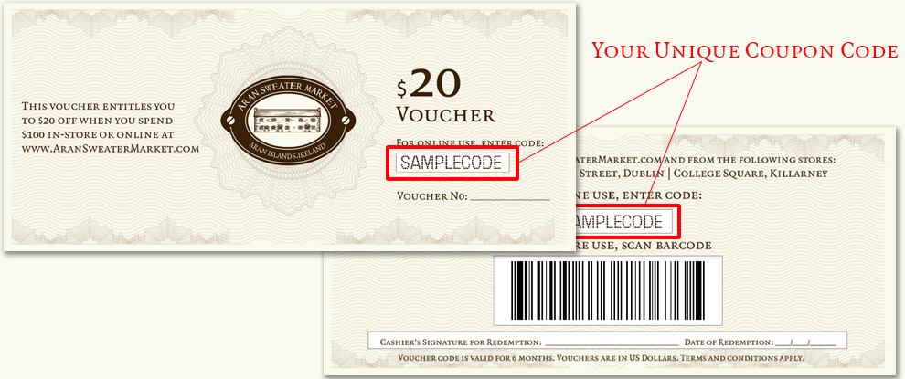 20 Voucher When You Order