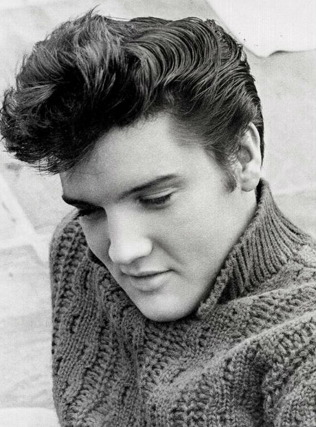 Elvis Presley wears Aran Sweater