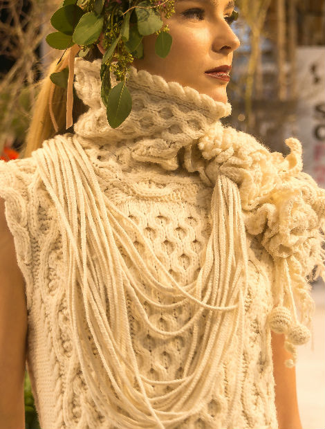 1e62d2000c9 Although the fashion show celebrated a diverse mix of handmade Irish  materials