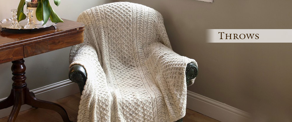 irish wool throws