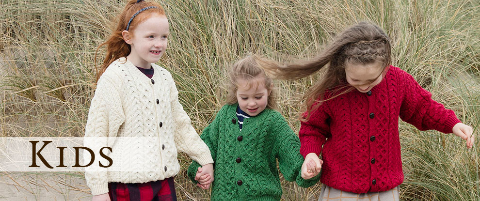 Boys wool sweater, Girls wool sweater
