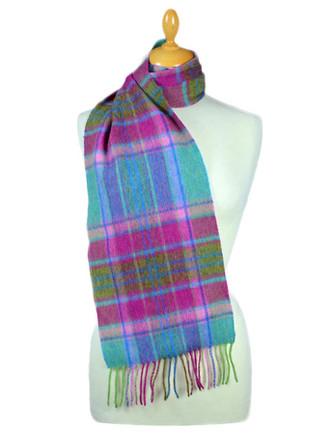 8dc727b2d63 Plaid & Tartan Scarves for Women | Aran Sweater Market