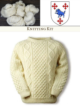 Crowley Knitting Kit