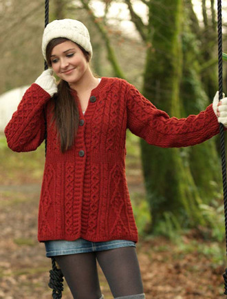Women's Merino Wool A-Line Fit Cardigan