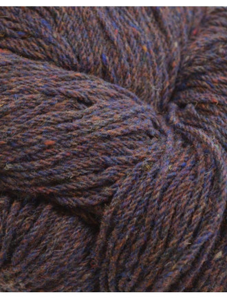 Aran Wool Knitting Hanks - Copper Fleck
