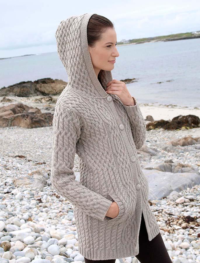 Hooded Wool Coat Wool Hooded Coat For Woman