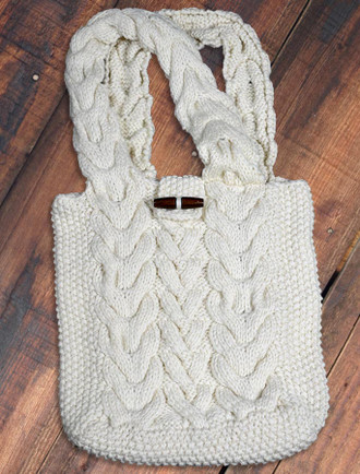 Aran Shopping Bag