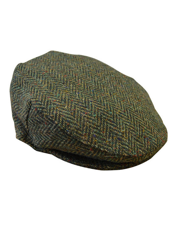 e2dee5a65 Tweed Flat Cap - Green