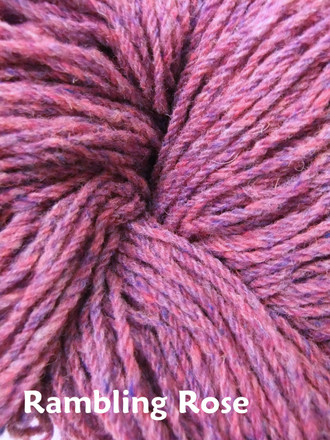 Aran Wool Knitting Hanks - Rambling Rose