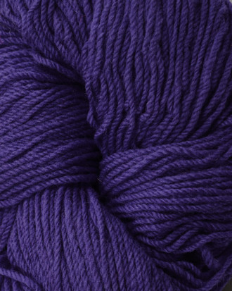 Aran Wool Knitting Hanks - Purple
