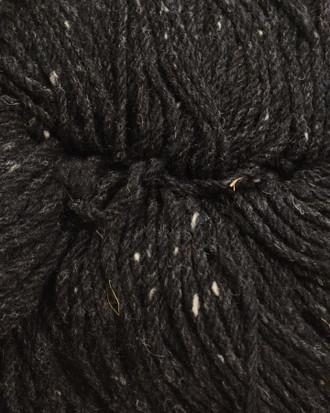Aran Wool Knitting Hanks - Charcoal Fleck