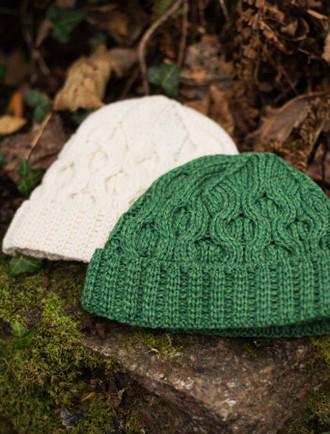 e5d90b0e66c Womens - Accessories - Caps   Hats - Wool Hats   Headbands - Aran ...