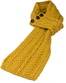 Aran Loop Scarf - Sunflower Yellow