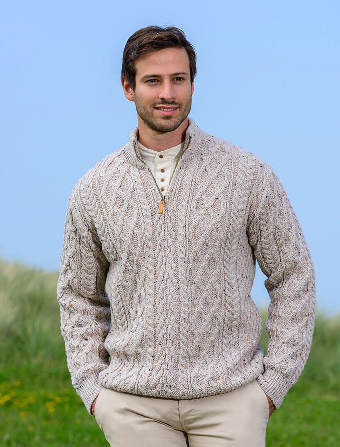 481f1d4dadb8 Mens Half Zip Sweater