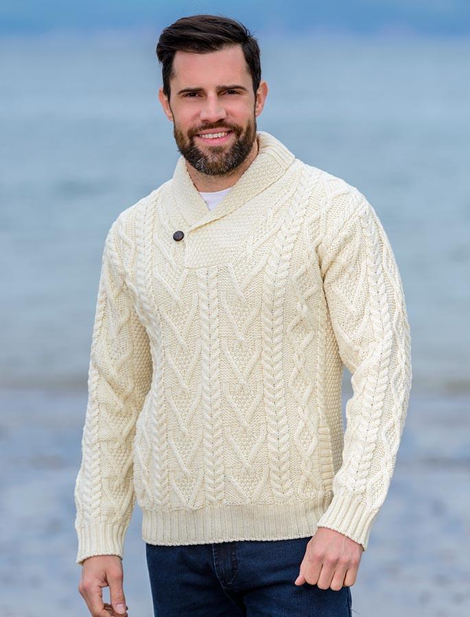 261757930f36 Mens Shawl Collar Sweater