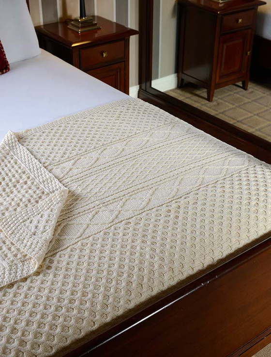 Kennedy Clan Aran Throw
