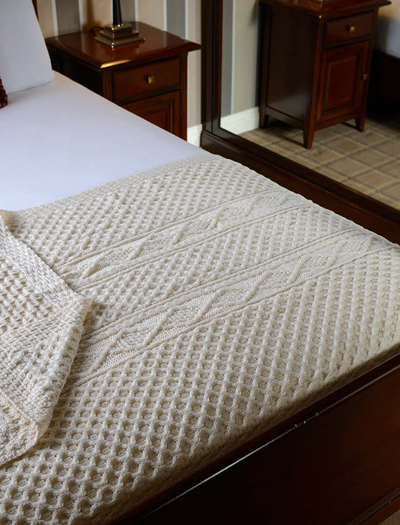 O'Grady Clan Aran Throw