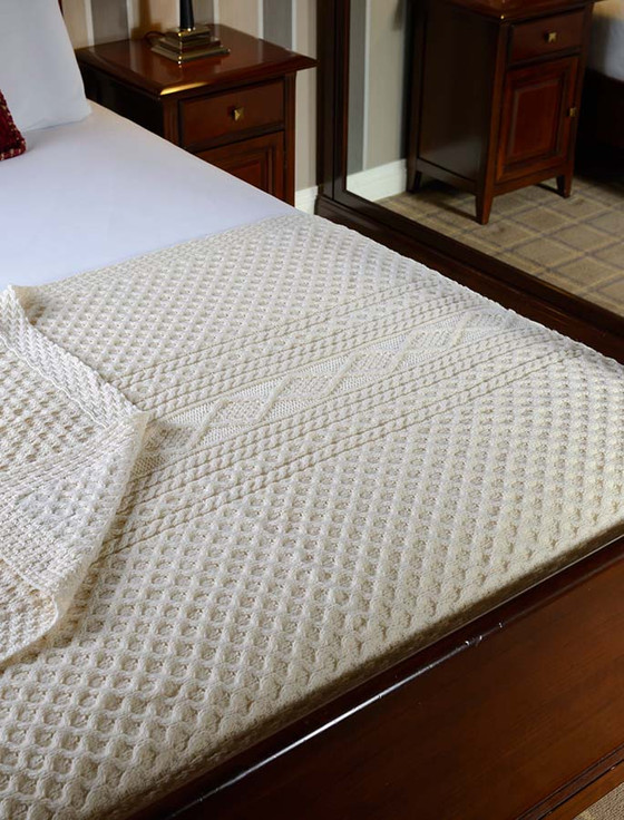 O'Hara Clan Aran Throw