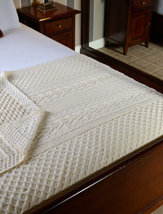 Regan Clan Aran Throw