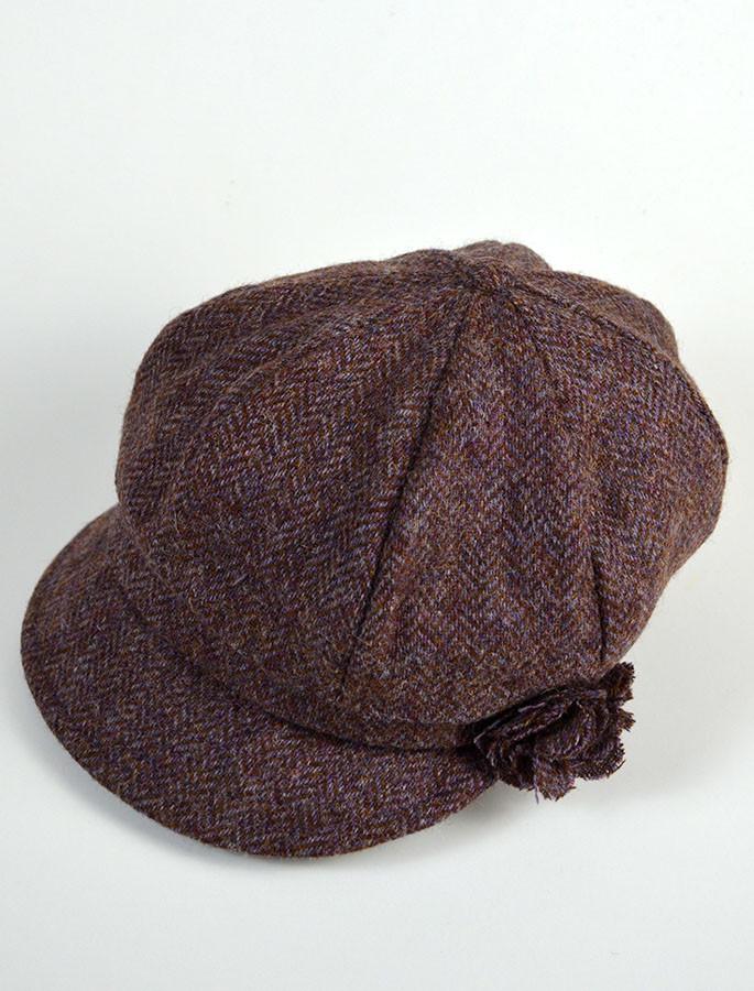 7c9aaeb25 Ladies Shannon Newsboy Hat - Purple