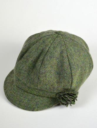 52e9cd783df Ladies Shannon Newsboy Hat - Light Green