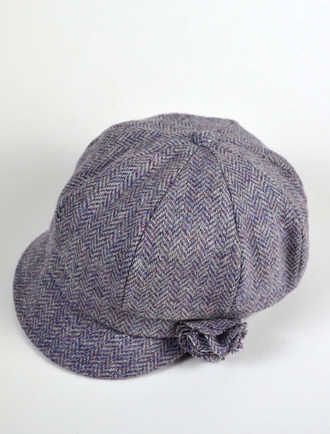 Ladies Shannon Newsboy Hat - Lavender