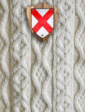 Fitzgerald Clan Aran Throw