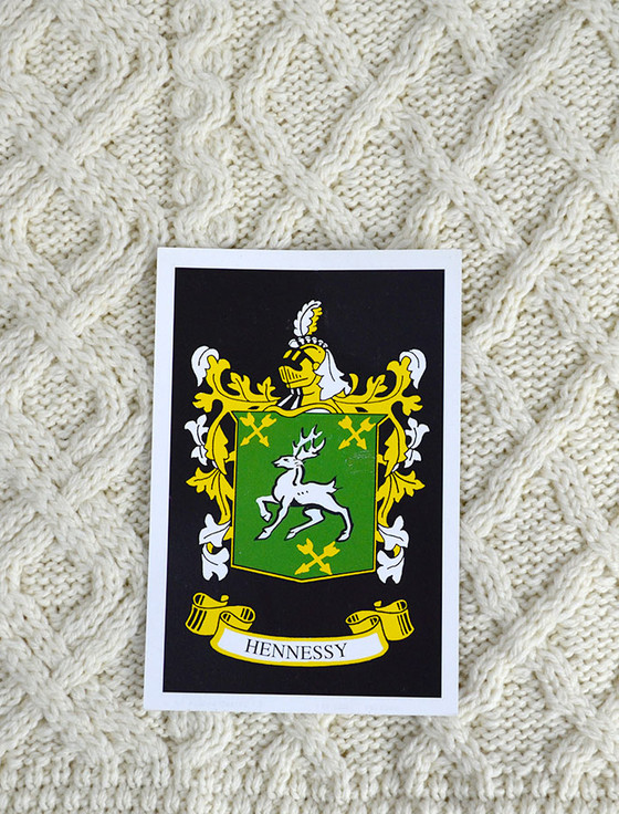 Hennessy Clan Aran Throw